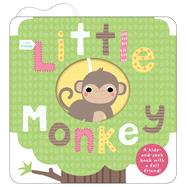 Little Friends: Little Monkey by Priddy, Roger, 9780312517793