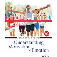 Understanding Motivation and Emotion by Reeve, Johnmarshall, 9781118517796