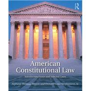 American Constitutional Law: Introductory Essays and Selected Cases by Mason; Alpheus Thomas, 9781138227798