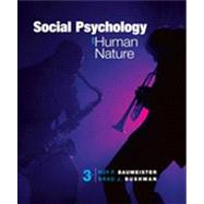 Social Psychology and Human Nature, Comprehensive Edition by Baumeister, Roy F.; Bushman, Brad J., 9781133957799