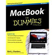 Macbook for Dummies by Chambers, Mark, 9781119137801