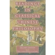 Readings in Classical Chinese Philosophy by Ivanhoe, Philip J.; Norden, Bryan W. Van, 9780872207806