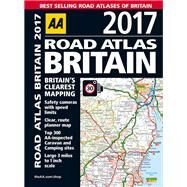 Road Atlas Britain 2017 by Automobile Association (Great Britain), 9780749577810