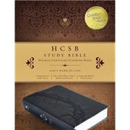 HCSB Study Bible, Charcoal LeatherTouch, Indexed by Unknown, 9781433617812