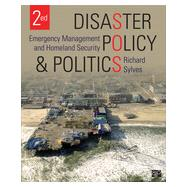 Disaster Policy and Politics by Sylves, Richard, 9781483307817