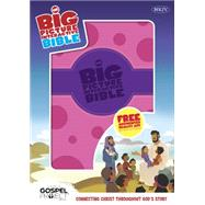 The NKJV Big Picture Interactive Bible, Purple/Pink Polka Dot LeatherTouch Connecting Christ Throughout God's Story by Unknown, 9781433607820