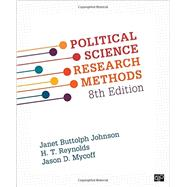 Political Science Research Methods by Johnson, Janet Buttolph; Reynolds, H. T.; Mycoff, Jason D., 9781506307824