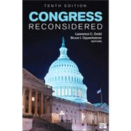 Congress Reconsidered by Dodd, Lawrence C.; Oppenheimer, Bruce I.; Aldrich, John H. (CON); Bernhard, William (CON); Binder, Sarah A. (CON), 9781452227825
