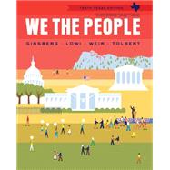 We The People, Texas Edition by Ginsberg, Benjamin, 9780393137828
