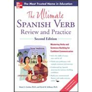 The Ultimate Spanish Verb Review and Practice, Second Edition by Gordon, Ronni; Stillman, David, 9780071797832