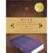 HCSB Study Bible, Purple LeatherTouch, Indexed by Unknown, 9781433617836