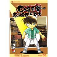 Case Closed 55 by Aoyama, Gosho, 9781421577838