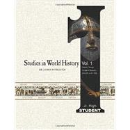 Studies in World History: Creation Through the Age of Discovery (4004 Bc to Ad 1500): Jr. High Student by Stobaugh, James P., 9780890517840