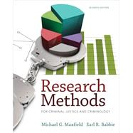 Research Methods for Criminal Justice and Criminology by Maxfield, Babbie, 9781285067841
