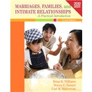 Marriages, Families, and Intimate Relationships Census Update by Williams, Brian K.; Sawyer, Stacey C.; Wahlstrom, Carl M., 9780205157846