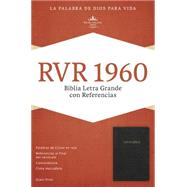 RVR 1960 Biblia Letra Grande con Referencias, negro imitación piel by Unknown, 9781433607851