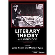 Literary Theory by Rivkin, Julie; Ryan, Michael, 9781118707852