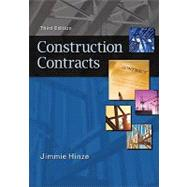 Construction Contracts by Hinze, Jimmie, 9780073397856