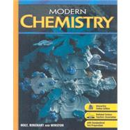 Holt Modern Chemistry : Student Edition 2009 by Davis, Raymond E.; Frey, Regina; Sarquis, Mickey; Sarquis, Jerry L., 9780030367861