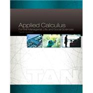 Applied Calculus for the Managerial, Life, and Social Sciences by Tan, Soo T., 9781305657861
