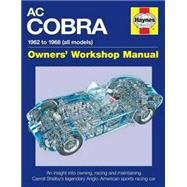 Haynes AC/Shelby Cobra Owner's Workshop Manual by Smale, Glen, 9780857337863