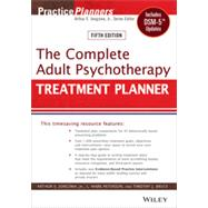 The Complete Adult Psychotherapy Treatment Planner by Jongsma, 9781118067864