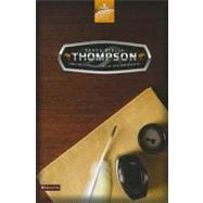 Santa Biblia Thompson/ Thompson Holy Bible by Zondervan Publishing, 9780829757866