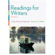 Readings for Writers by McCuen-Metherell, Jo Ray; Winkler, Anthony C., 9781305087866