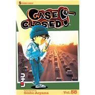 Case Closed 58 by Aoyama, Gosho, 9781421577869