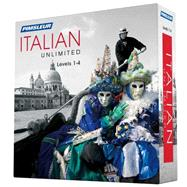 Pimsleur Italian Unlimited, Levels 1-4 by Pimsleur, 9781442367869