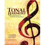 Tonal Harmony with Audio CS and Workbook by Kostka, Stefan; Payne, Dorothy, 9781259657870