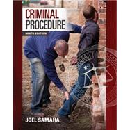Criminal Procedure, 9/E by Samaha, 9781285457871