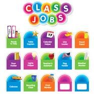 Color Your Classroom: Class Jobs Bulletin Board by Scholastic, 9781338127874