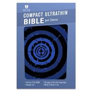 HCSB Compact Ultrathin Bible for Teens, Blue Vortex LeatherTouch by Unknown, 9781433617874