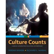 Culture Counts : A Concise Introduction to Cultural Anthropology by Nanda,Serena, 9780495007876