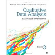 Qualitative Data Analysis : A Methods Sourcebook by Miles, Matthew B.; Huberman, A. M.; Saldana, Johnny, 9781452257877