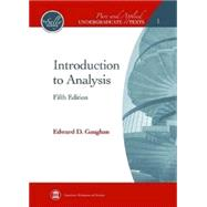 Introduction to Analysis by Gaughan, Edward D., 9780821847879