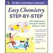 Easy Chemistry Step-by-Step by DeWane, Marian, 9780071767880