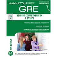 Reading Comprehension & Essays GRE Strategy Guide, 4th Edition by Manhattan Prep, -, 9781937707880