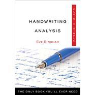 Handwriting Analysis Plain & Simple by Bingham, Eve, 9781571747884