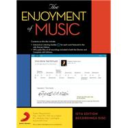 The Enjoyment of Music Recordings by W. W. Norton & Company, Inc., 9780393937886