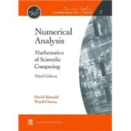 Numerical Analysis: Mathematics of Scientific Computing by Kincaid, David; Cheney, Ward, 9780821847886
