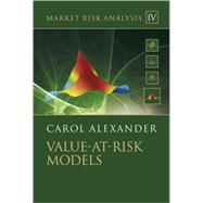 Market Risk Analysis Vol. 4 : Value-at-Risk Models by Alexander, Carol, 9780470997888