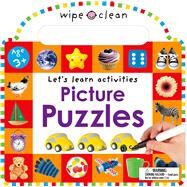 Wipe Clean: Picture Puzzles by Priddy, Roger, 9780312517892