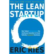 The Lean Startup by Ries, Eric, 9780307887894