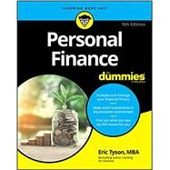 Personal Finance for Dummies by Tyson, Eric, 9781119517894
