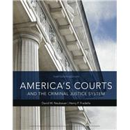 America's Courts and the Criminal Justice System by Neubauer, David W.; Fradella, Henry F., 9781337557894