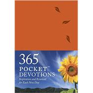 365 Pocket Devotions Leatherlike: Inspiration and Renewal for Each New Day by Tiegreen, Chris, 9781414387895