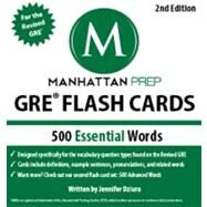 500 Essential Words: GRE Vocabulary Flash Cards by Unknown, 9781935707899