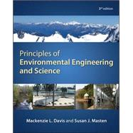 Principles of Environmental Engineering & Science by Davis, Mackenzie; Masten, Susan, 9780073397900